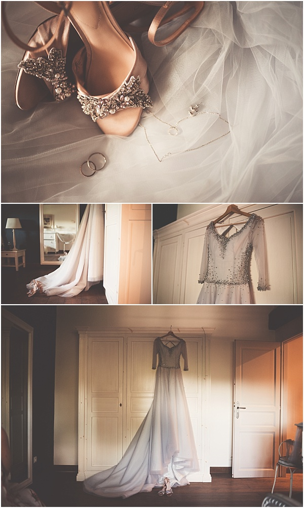 Chateau Wedding in Provence Wedding Dress
