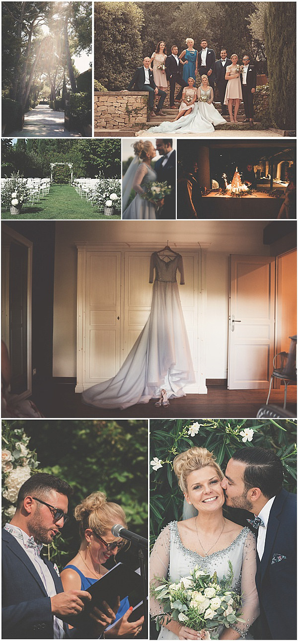 Chateau Wedding in Provence Wedding Snapshot