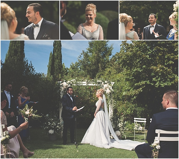 Chateau Wedding in Provence Wedding Vows