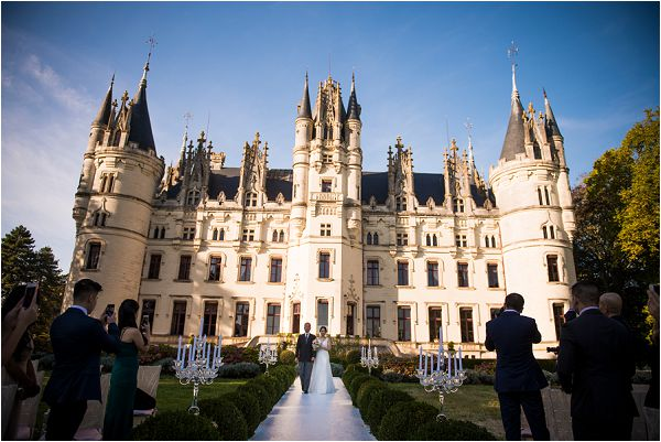 Fairytale French Wedding Chateau France Challain by Janis Ratnieks Photography