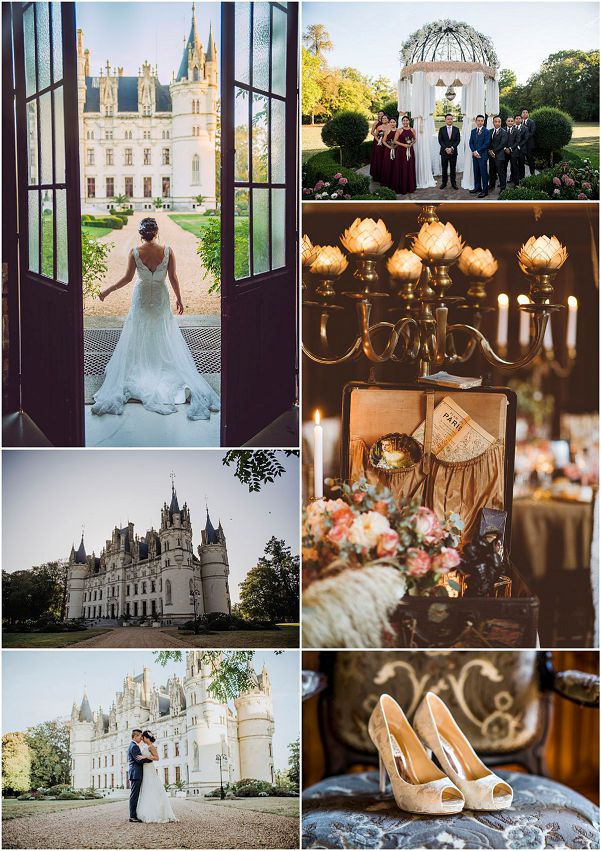 Fairytale Luxury Wedding Venue Chateau Challain Snapshot