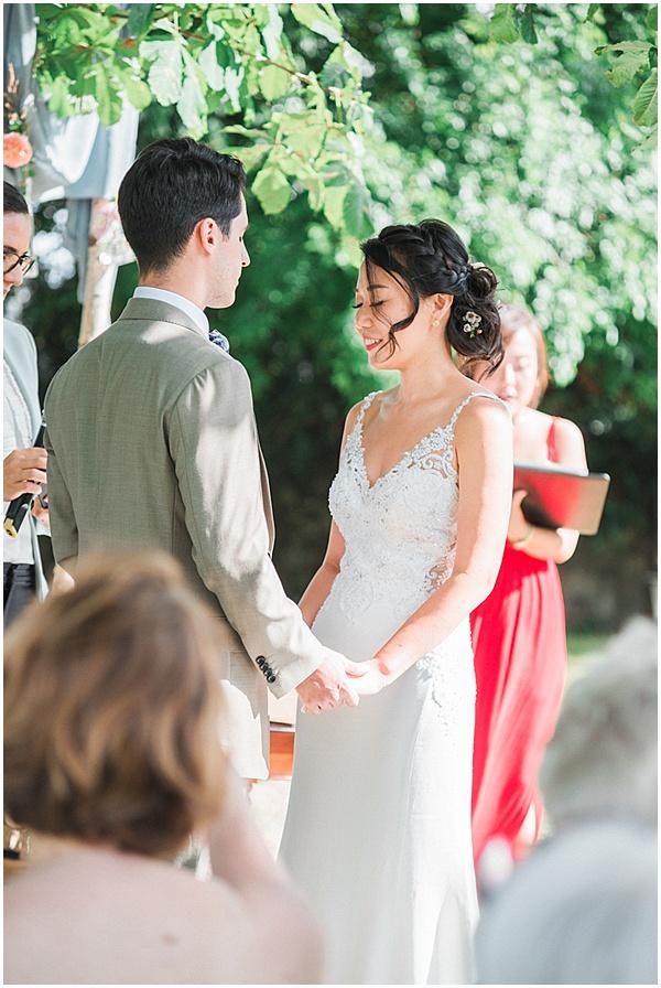 French Destination Wedding Ceremony