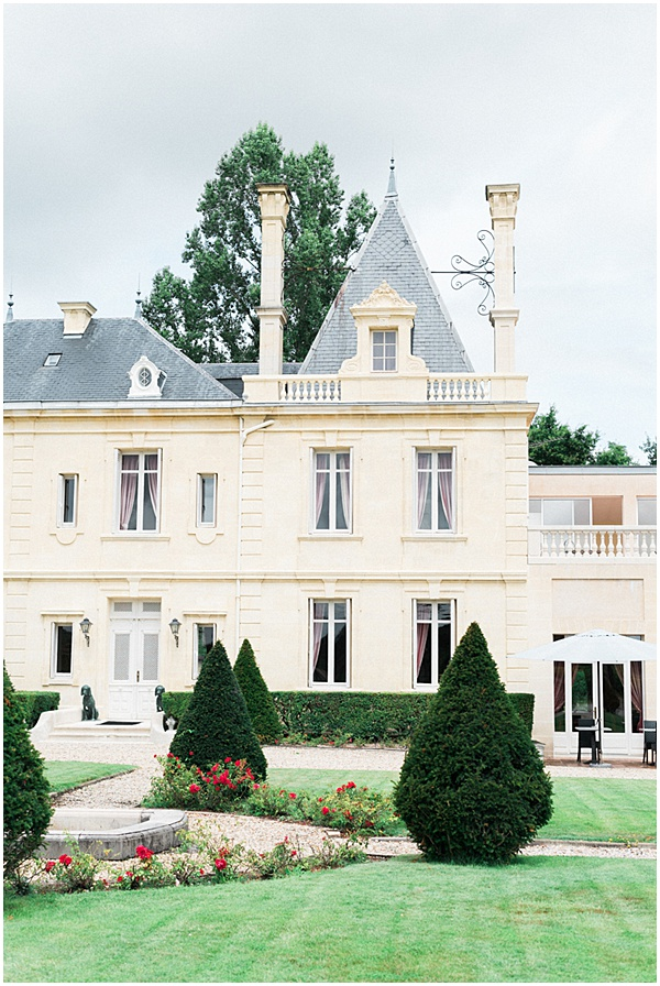 French Destination Wedding Chateau Meyre Front
