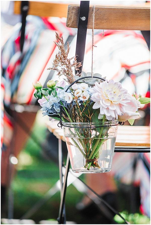 French Destination Wedding Floral Bouquet