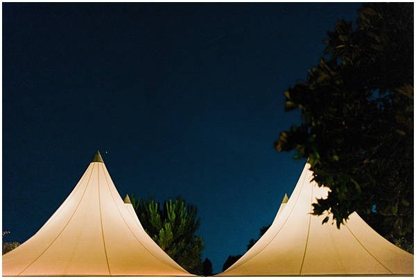 French Destination Wedding Marquee Tops