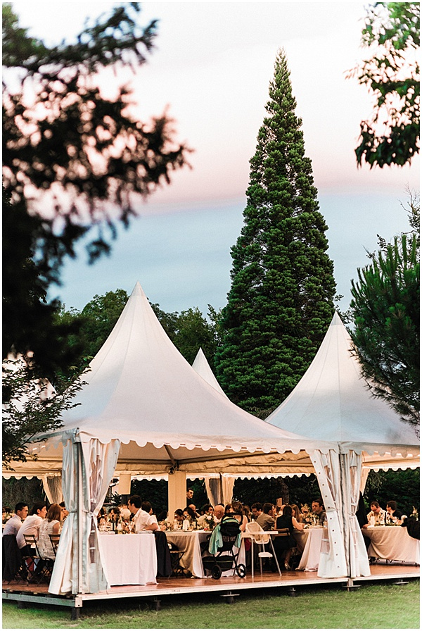French Destination Wedding Marquee