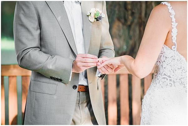 French Destination Wedding Rings