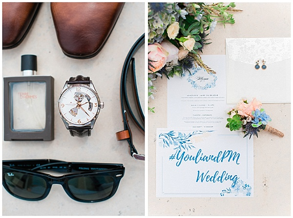 French Destination Wedding Stylish Accessories