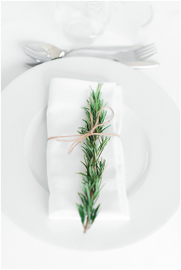 French Destination Wedding Table Setting