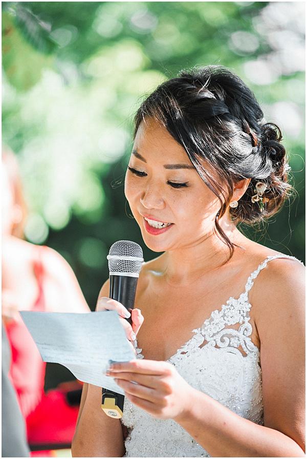 French Destination Wedding Vows