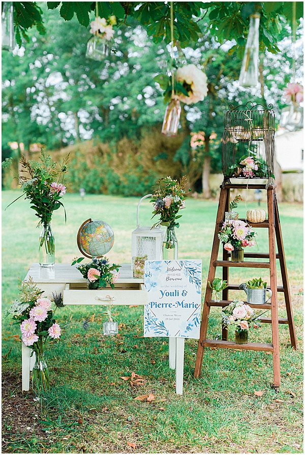 French Destination Wedding Wedding Decorations