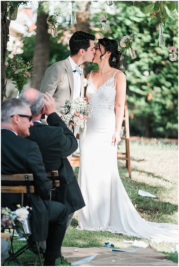 French Destination Wedding You May Now Kiss
