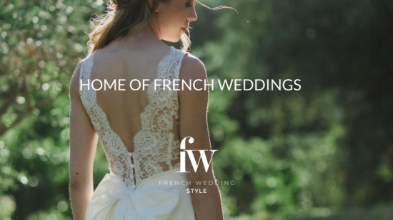 French Wedding Ideas and Style Group