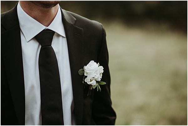 Grooms Buttonhole Wedding in Alsace