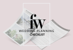 Wedding Planning Checklist from French Wedding Style