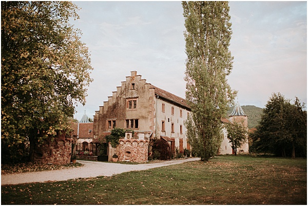 Wedding in Alsace Chateau de Thanville