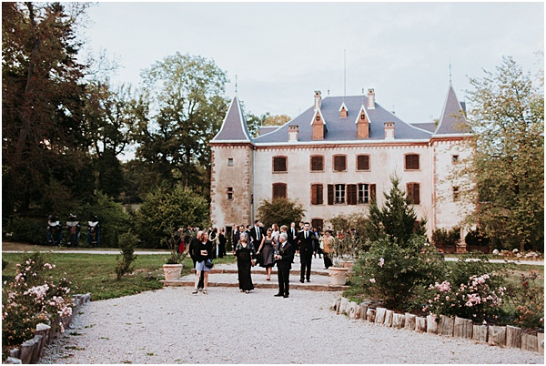 Wedding in Alsace at Chateau de Thanville