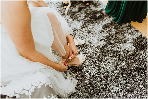 Wedding in Alsase Bridal Shoes