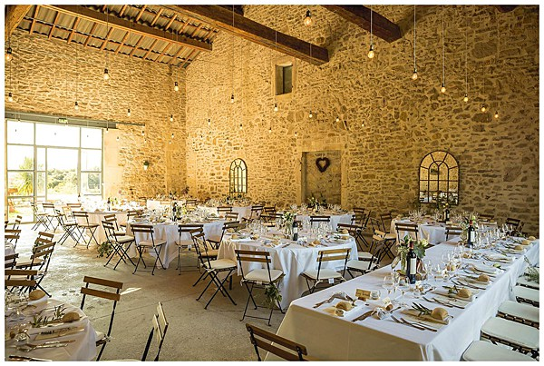 Wedding in Languedoc Rousillion Champagen Reception