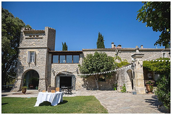 Wedding in Languedoc Rousillion Domaine Saint Germain