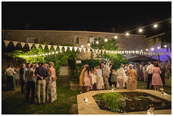 Wedding in Languedoc Rousillion Evening Reception