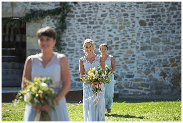 Wedding in Languedoc Rousillion The Bridesmaids