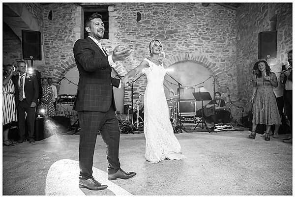 Wedding in Languedoc Rousillion The First Dance