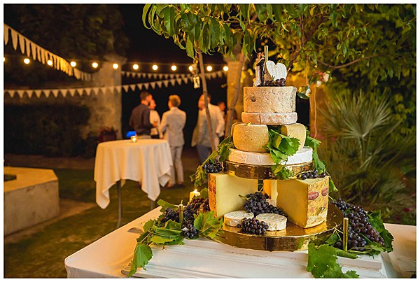 Wedding in Languedoc Rousillion Wedding Cheese Cake