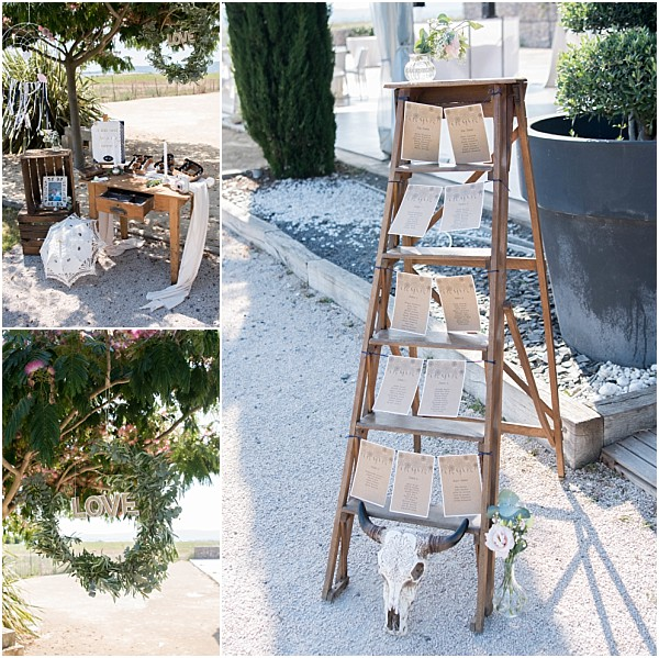 Wedding in Montpellier Bohemian Wedding Decoration
