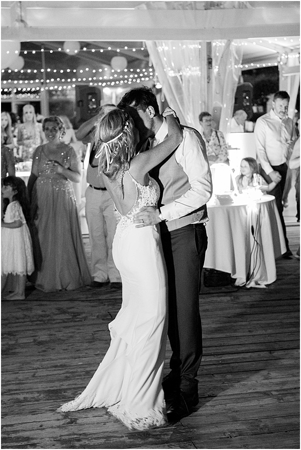 Wedding in Montpellier The couples first dance