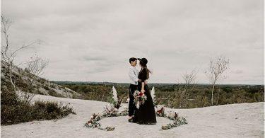 captivating view at international wedding photography