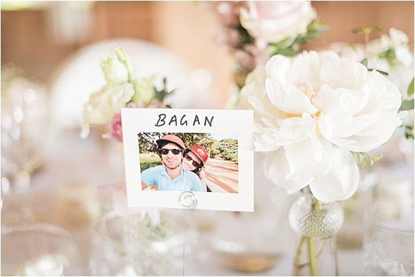 couple's photo on the table at Destination Wedding Planning in Gascony