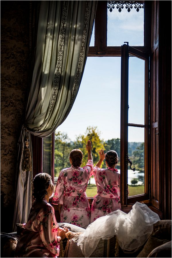 destination bridal party preparations in France by Janis Ratnieks Photography