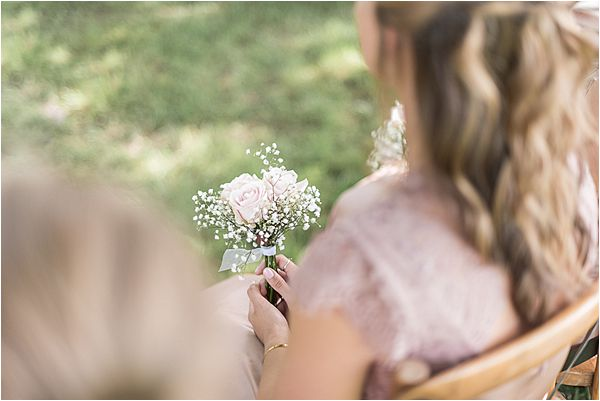 simple flower at Destination Wedding Planning in Gascony