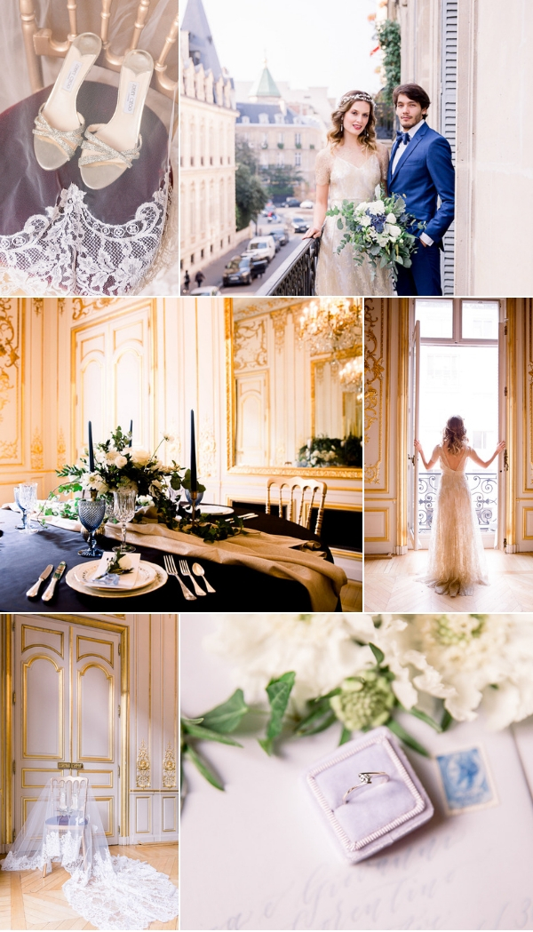 snapshot at Winter Wedding in Paris