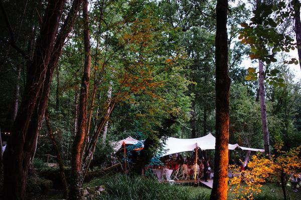 6 Elian Concept Weddings Marquee Wedding France Stretch Tent Woodland Wedding Nicolas Chauveau Photography