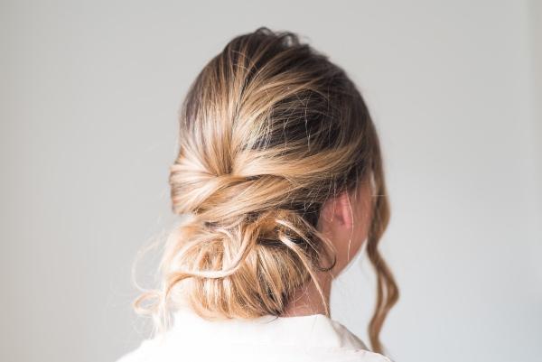 Bridal Elegant Bun Hairstyle