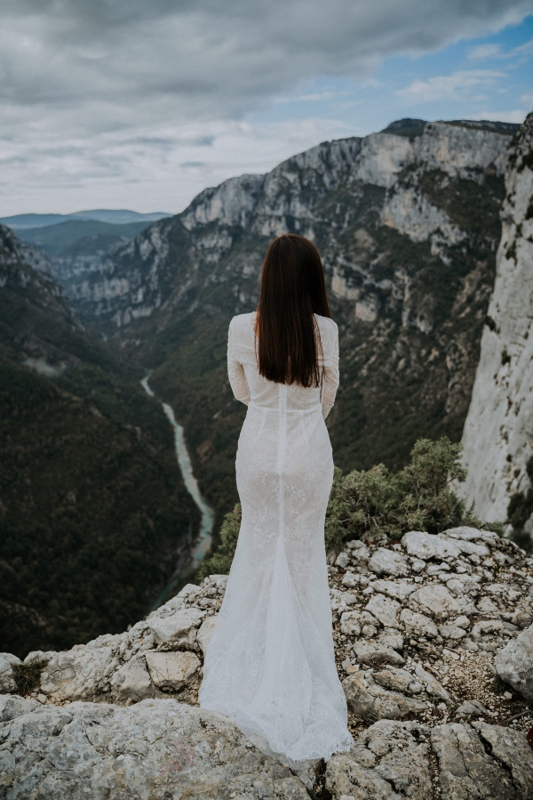Bridal Gown with Views