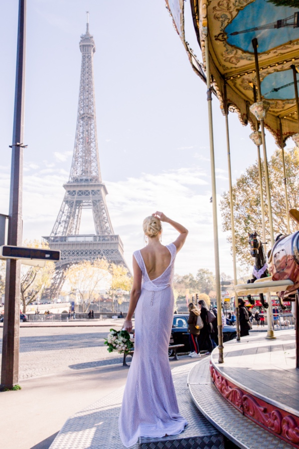 Carousel Bridal Shot Paris