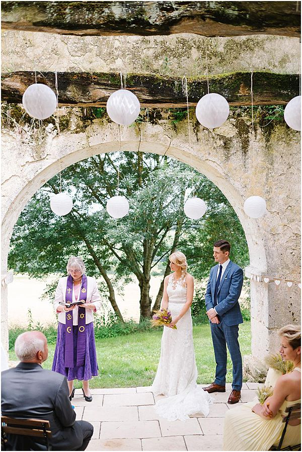Ceremony Setup at France Chateau