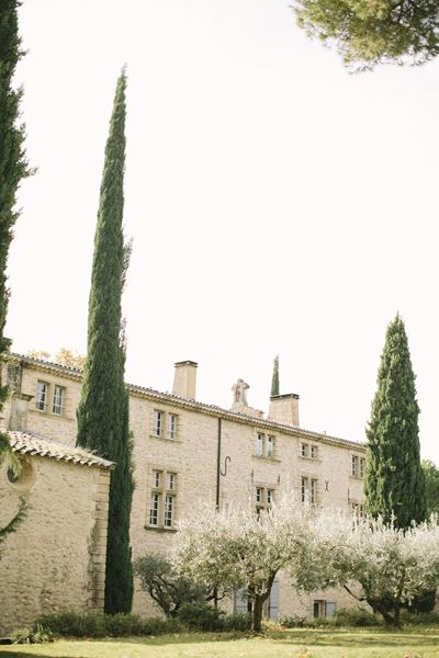 Château de Sannes Provencal Wedding Venue