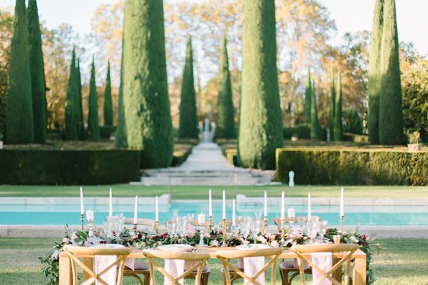 Château de Sannes Stuning Wedding in the South of France