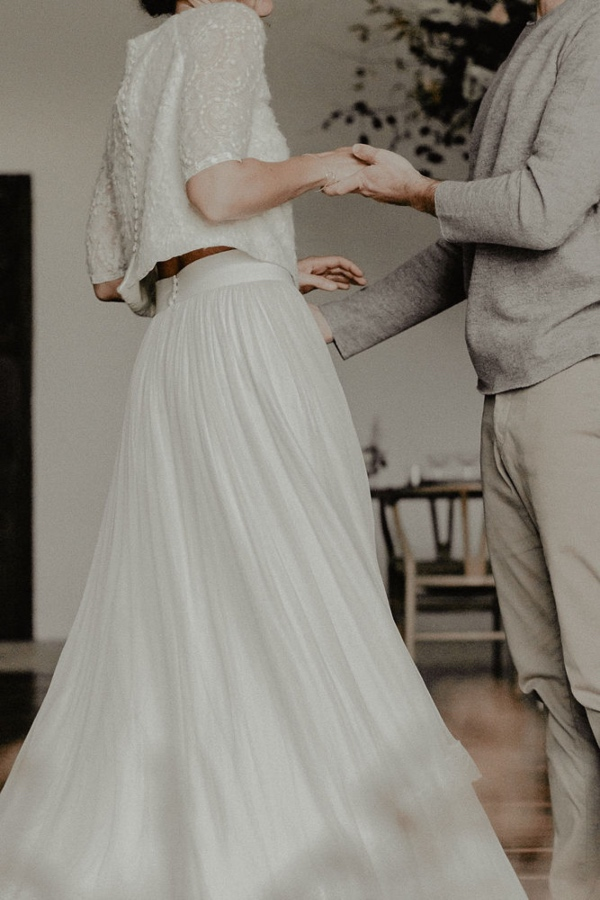 Chic Wedding Skirt