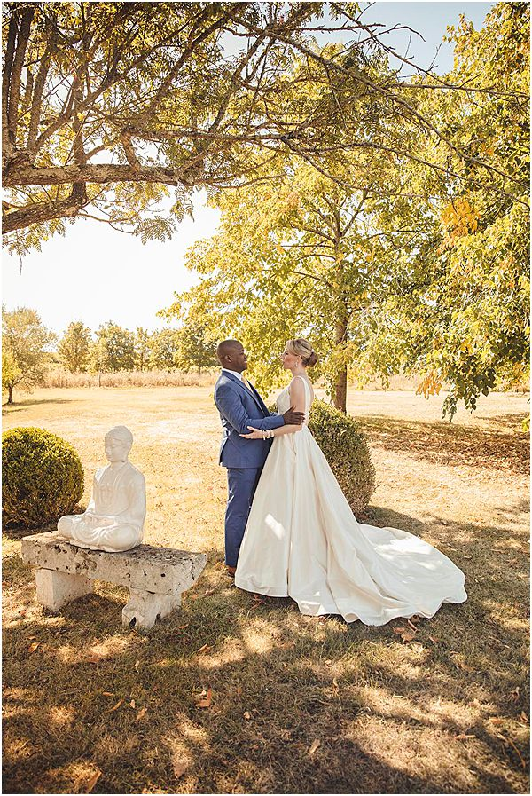 Couple at France Vineyard Venue