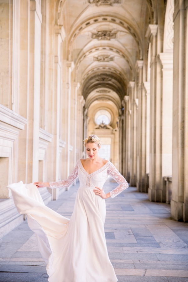 Designer Bridal Gown Paris