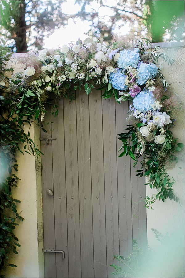 Doorway Wedding Floral Installation