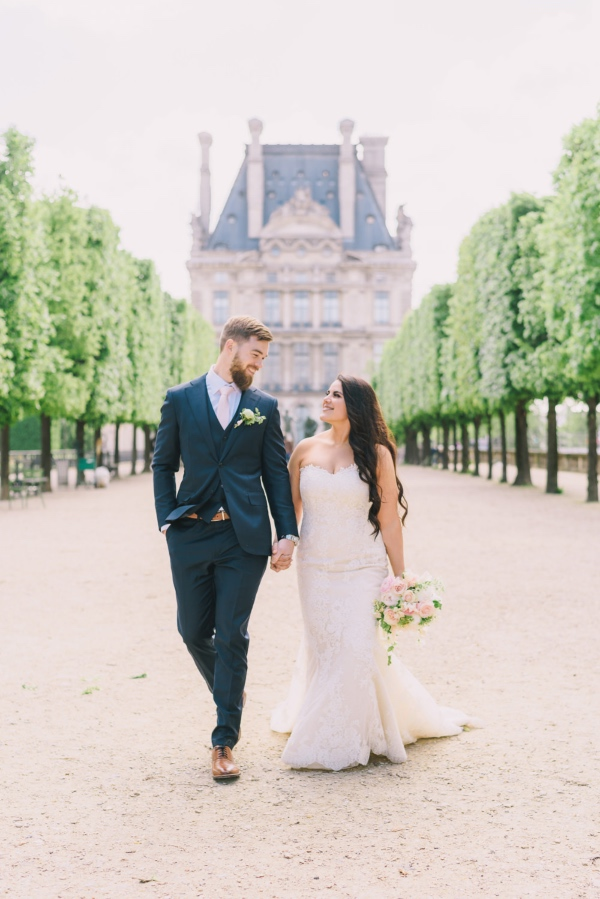 Elegant France Wedding Photo