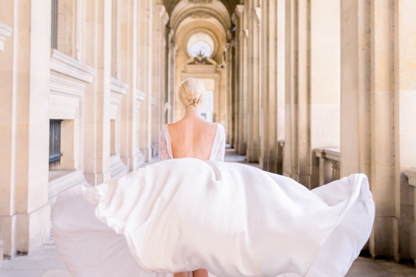 Elegant Paris Bridal Dress
