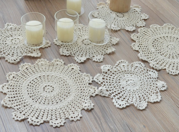 French Crochet Doilies