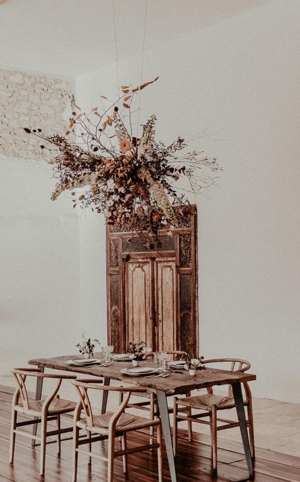 Minimalist Hanging Florals